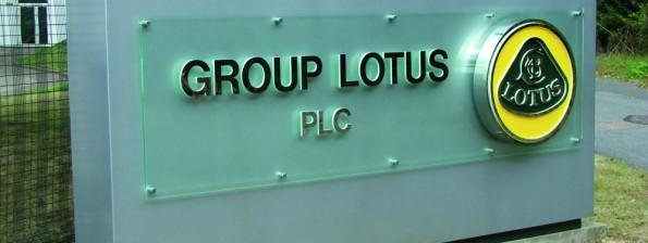 lotus custom sign