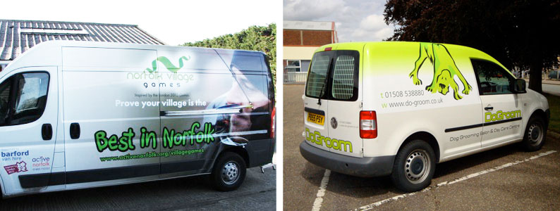 vehicle graphics norwich