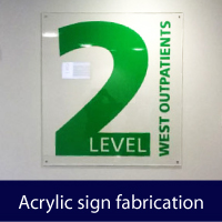 Acrylic Sign Fabrication