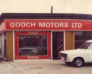 Gooch-Motors sign