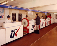 Air UK historical signs