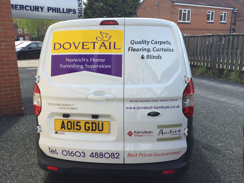 Vehicle graphics norwich pic