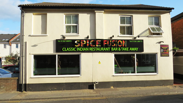 Spice Stainless Steel Signage Pic